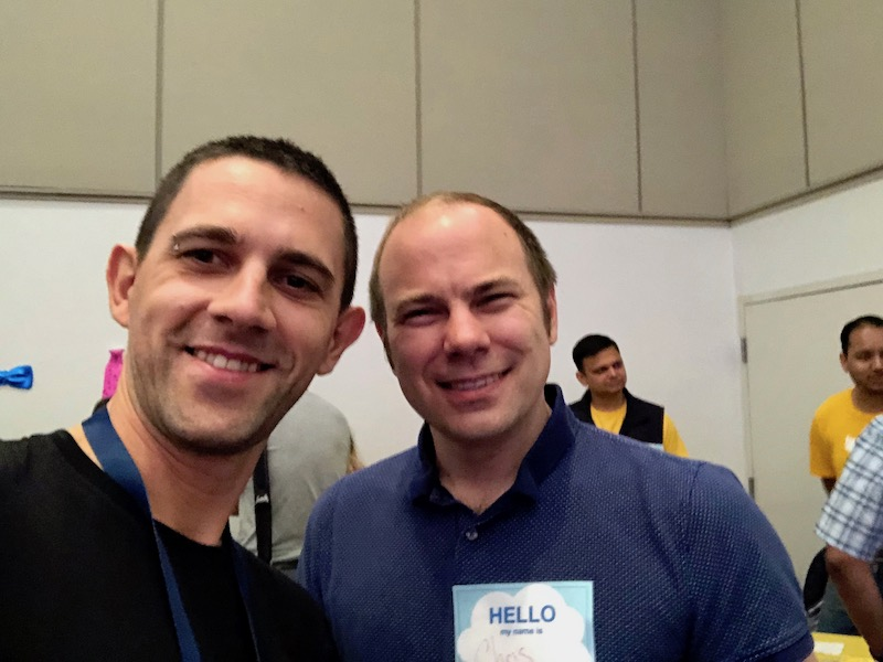 Meeting Chris Lattner